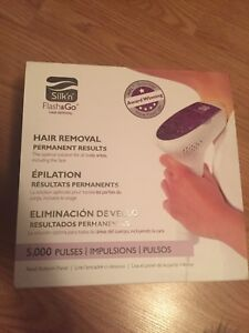 Laser hair remover new in box
