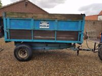 Weeks high lift tipping trailer 40 plus