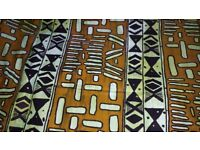 Original african cotton wax dye fabric (Ankara)