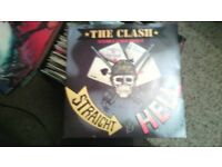 "the clash 7"" vinyl straight to hell"