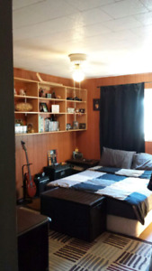 LARGE FURNISHED ROOM FOR RENT TO FEMALE, SEPT 1  PRIVATE BALCONY