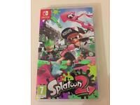 Splatoon2 Nintendo switch