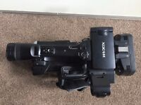Sony PMW 200 camera + accessories including 2 batteries, Kata bag, 64GB sxs, 16GB sxs, 5x 8GB sxs