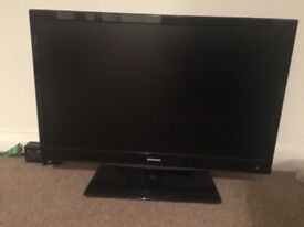 22 inch Polaroid flat screen TV DVD player combined