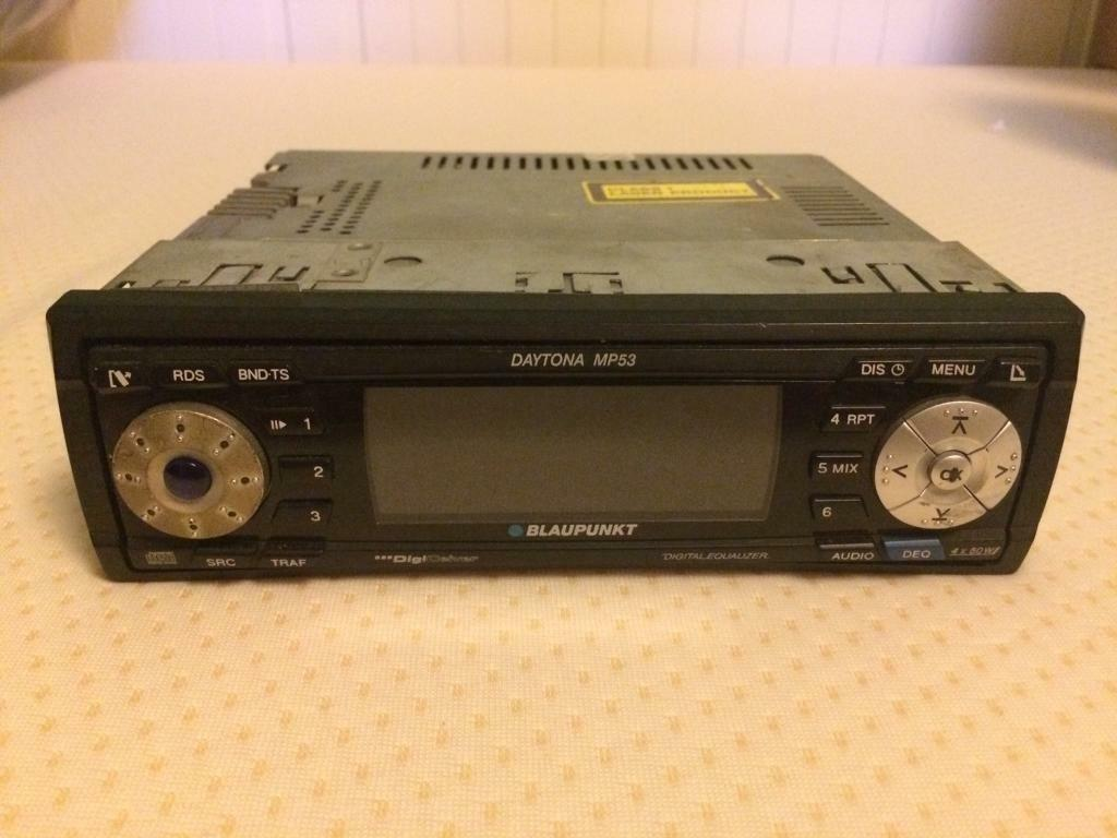 blaupunkt daytona mp53 car cd stereo radio in norwich. Black Bedroom Furniture Sets. Home Design Ideas