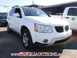 2007 PONTIAC TORRENT LT 4D UTILITY AWD LT