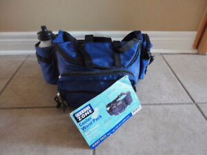 Blue Sports Insulated Fanny Pack for Food Snacks Drinks NWT