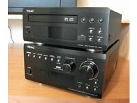 TEAC DAB/FM/AM STEREO RECEIVER AG-H380-DAB + COMPACT DISC PLAYER PD-H380-B