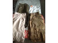 4 pairs of men's shorts size 32/34