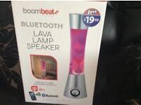 Bluetooth lava lamp speaker