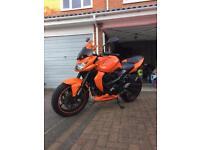 Kawasaki z750 orange