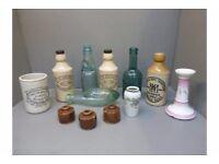 WANTED - Old pottery Scottish Ginger Beer bottles