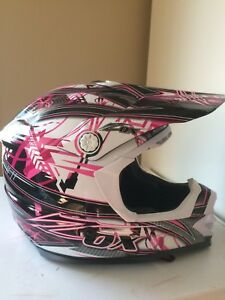 Brand new woman's zox helmet