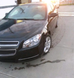 Chevrolet Malibu black colour(low kms) in reduce price.Excellent