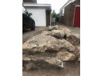 Large Rockery Rocks approximately 10