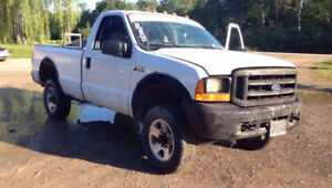 2000 Ford F-250 7.3 DIESEL FIRST SERIOUS OFFER TAKES IT NEED GON