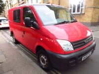 LDV Maxus 6 Seater Crew Van up for grabs! Selling for relocation over seas. Priced for quick sale.