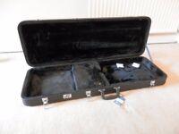 Unused Electric Guitar Flight Case / Hard Case DV247 lockable