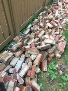 Salvaged bricks