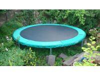 14 foot, Garden Trampoline by SuperTramp