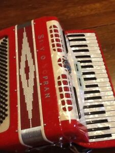 Silvio Soprana Accordian