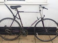 "Vintage road bike. Raleigh Scorpio. 23"" Frame. Extra Large. 700 cc Wheels. Fully working !"