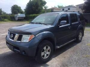 2005 Nissan Pathfinder SE $2250 as traded