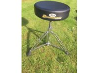 Pearl Roadster Drum Throne, Excellent Condition