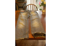 Replay 3 pairs of size 30/31 blue jeans