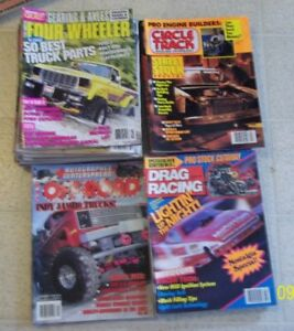 Car and Truck Magazines - Hot Rodding - Four Wheeler and more