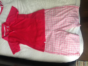 Never worn golf clothes - size 8!!