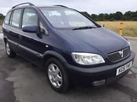 BARGAIN! Vauxhall zafira elegance, 7 seater, MOTD full history ready to go
