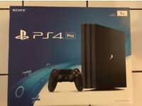 Brand New Sony PS4 Pro 1TB