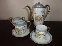 Oriental coffee set - ornamental