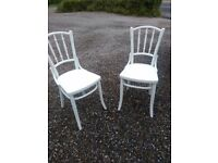thonet chairs x2