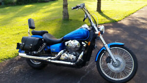 2008  VT750C2  SPIRIT (Shaft Drive) Mild Custom Low Kms $3750.00