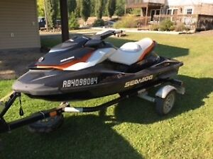 2013 Seadoo GTI SE 155 with Trailer