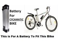 "Cyclamatic 26 "" Wheel Electric Bike New Battery 24v 11ah Li-ion Fast Delivery"