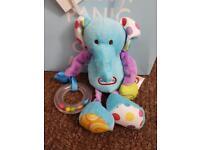 Little tikes elephant rattle baby toy