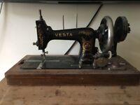Small Vesta Antique Sewing Machine