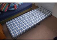 Single Folding Camp Bed (Good Condition)