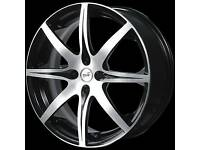 Alloy wheel set & new tyres