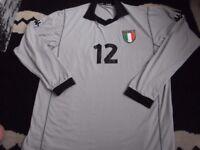 rare italian italy toldo goalkeeping shirt 2000
