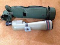 Spotting Scope Kowa Prominar TSN 4 with Tripod, Car Window Mount and skua Case excellent condition