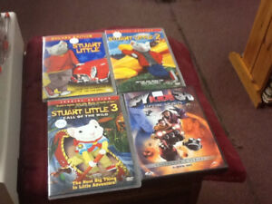 DVDs- Childrens and Comedies