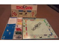 Vintage 1985 US Monopoly No. 9 Board Game (Parker Brothers)