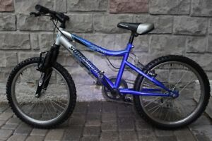 Mountain Bike Supercycle 20 inch 5 speed front suspension bicycl