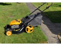 McCulloch 21 inch Self propelled petrol lawn mower, regularly serviced.
