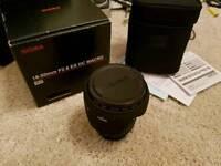 Sigma 18-50mm f2.8 Nikon fit