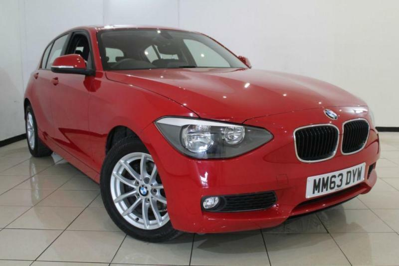 2014 63 BMW 1 SERIES 1.6 116I SE 5DR 135 BHP
